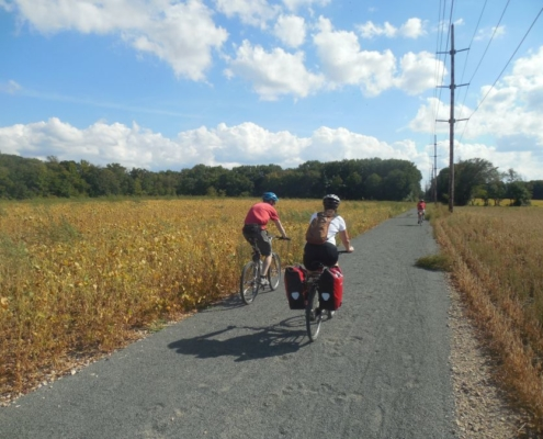 New Jersey bicycle path