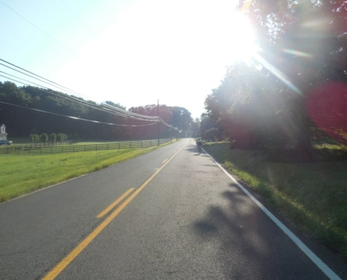 new jersey bicycle morning