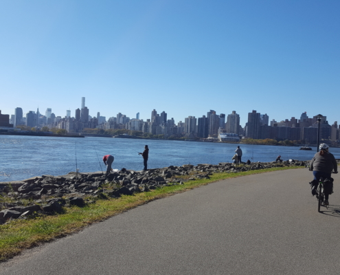 NYC Waterfront Bike Path