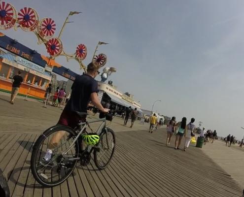 Coney Island Biking