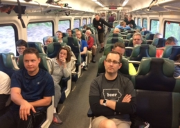 group train travel
