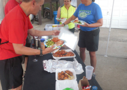 private bicycle tour meals