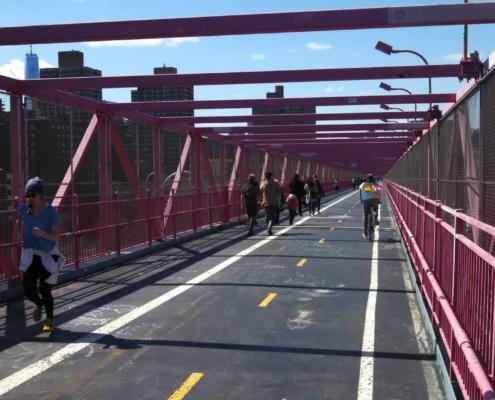 Williamsburg Bridge Bike Path