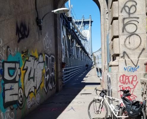 Manhattan Bridge Bike Path