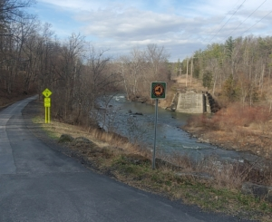 Empire State Trail in Hudson