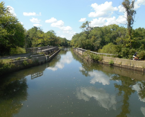 D&R Canal bike path New Jersey