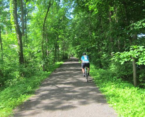 Hudson Valley bike path