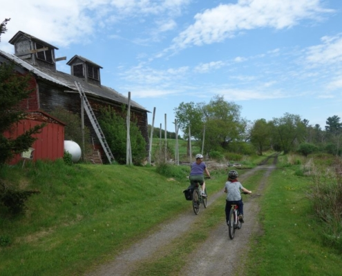 Catskill Scenic Trail barn