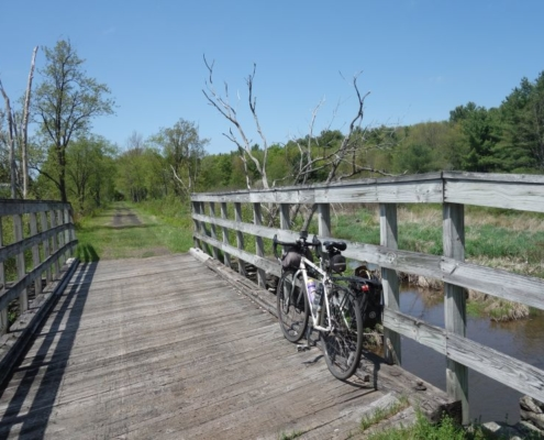 Catskill Scenic Trail bridge