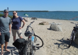 Hamptons private bicycle tour