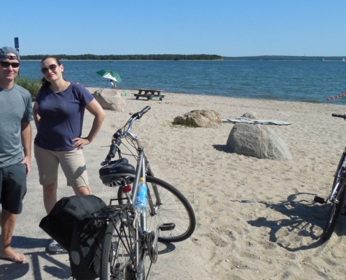 Hamptons private bicycle tour