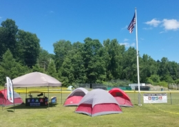 Harlem Valley Rail Ride camping