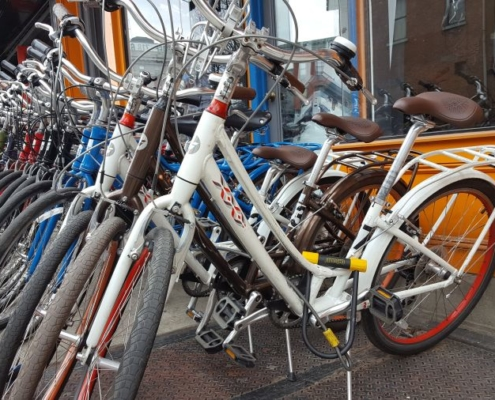 NYC rental bikes