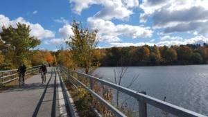 West Branch Reservoir crossing