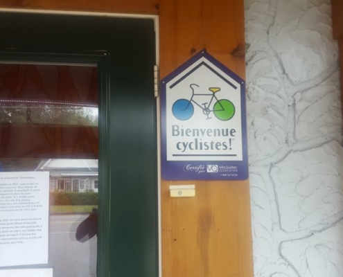 Bicycle friendly hotels in Quebec