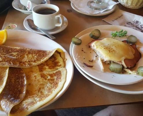Val-David breakfast