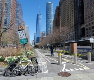 Empire State Trail south ending NYC