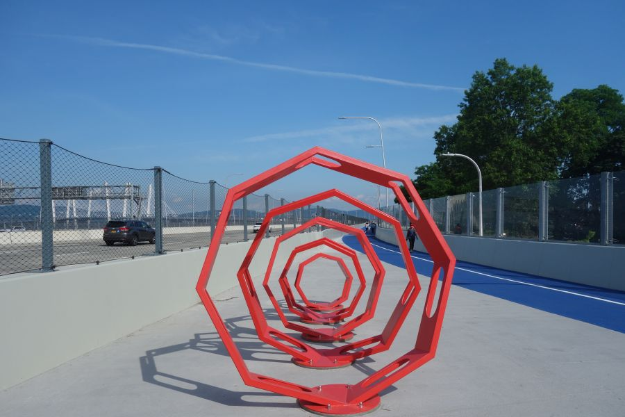 Public art Tappan Zee bridge