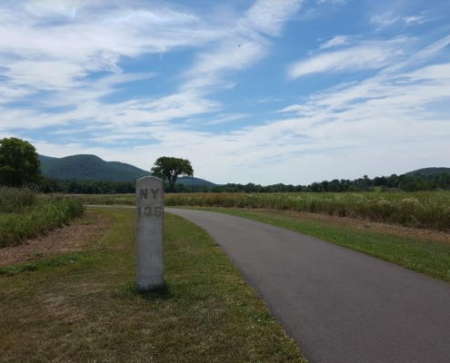 Hudson Valley bike path