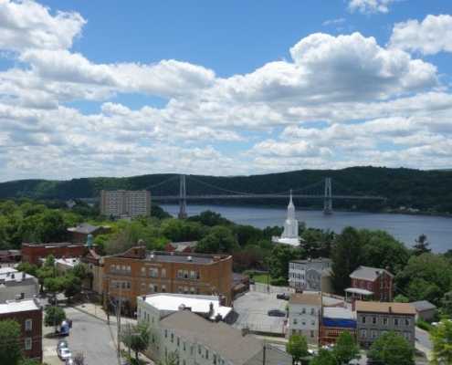 View of Poughkeepsie