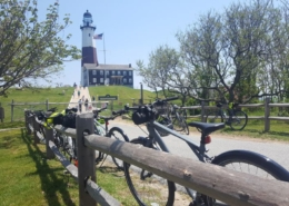 Montauk private bicycle tour